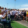 Zászlófelvonás az olimpiai-paralimpiai faluban