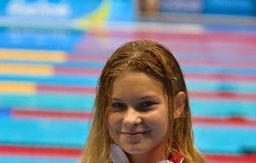 Pap Bianka úszó ezüstérmet nyert 100 méter háton Rióban!
