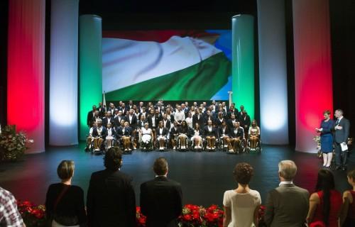 A Magyar Paralimpiai Csapat letette a hivatalos esküt a XV. Nyári Paralimpiai Játékok kezdete előtt.