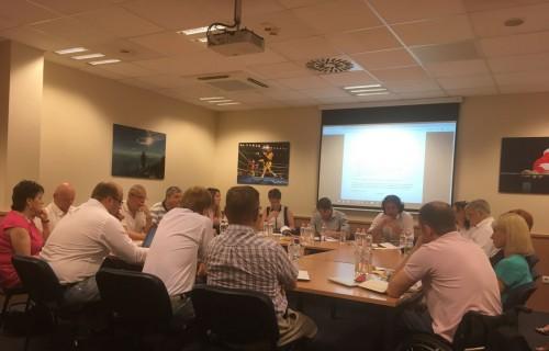 A Magyar Paralimpiai Bizottság Köztestületének elnöksége megtartotta a nyár eleji elnökségi ülését.