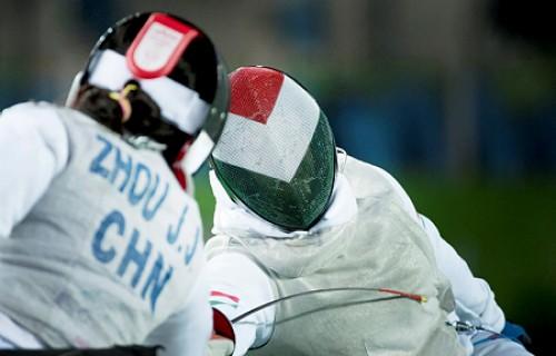 Osváth Richárd vívó újabb ezüstérmet nyert, Krajnyák Zsuzsanna vívó bronzérmet! A 7. nap hírei és fotói.