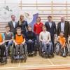 Sajtótájékoztató keretében bemutattuk a február 22-i Magyar Parasport Napja programjait
