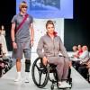 Divatbemutatón a Paralimpiai Csapat egyedi forma- és sportruházata