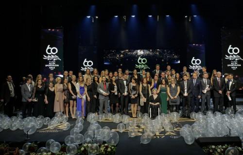 Krajnyák Zsuzsanna, Osváth Richárd, Beliczay Sándor és a női kerekesszékes vívó válogatott kapta az Év sportolója díjakat