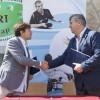 A VIII. MERI Sportnapon írta alá Prof. Dr. h. c. Mocsai Lajos, a Testnevelési Egyetem rektora és Szabó László, a Magyar Paralimpiai Bizottság elnöke az együttműködési megállapodást