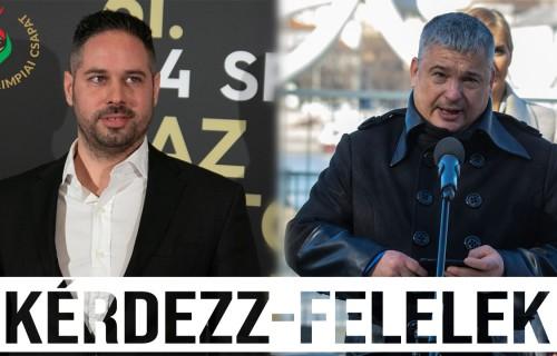 Kérdezz-felelek: Szabó Álmos és Becsey János