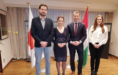 Tokióban járt a Magyar Paralimpiai Bizottság delegációja