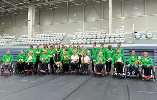 A Magyar Paralimpiai Csapat ünnepélyes fogadása