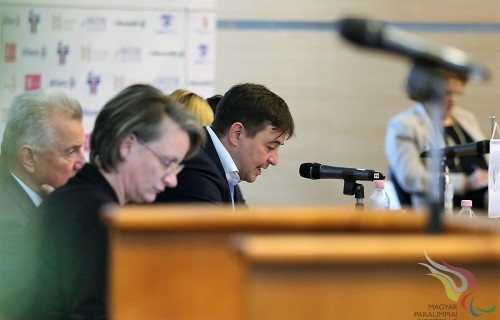 Szabó Lászlót választották meg újabb négy évre a Magyar Paralimpiai Bizottság elnökének