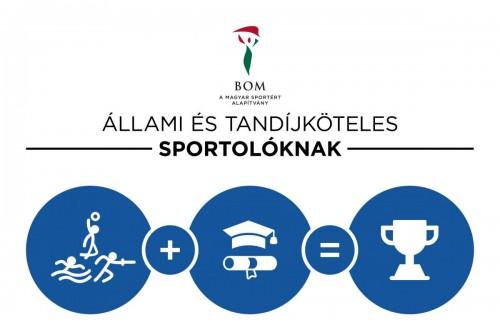 Parasportolók is pályázhatnak a BOM tanulmányi ösztöndíjára