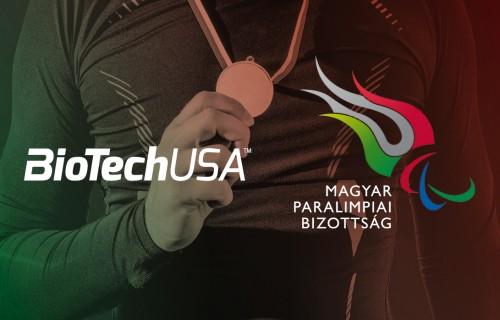 A Magyar Paralimpiai Csapat új támogatója a BioTechUSA
