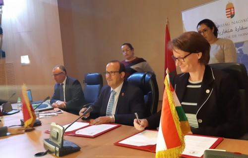 Bilaterális együttműködést írt alá Marokkó fővárosában, Rabatban, a Marokkói Parasport Szövetség és Magyar Paralimpiai Bizottság.