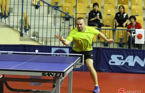 Pálos Péter ezüstérmet szerzett a férfiak 11-es kategóriájában a Szlovéniában rendezett paraasztalitenisz-világbajnokságon.