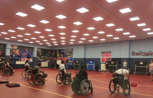 Közös régiós ifjúsági edzőtábor a Szlovák Paralimpiai Bizottság főszervezésében