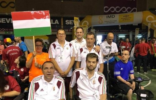 A Magyar Para Boccia válogatott a sevillai World Open versenyen indult.