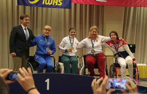 IWAS Kerekesszékes Vívó Világkupa/ Wheelchair Fencing World Cup Kaposvári Zsolt Emlékverseny 1. versenynapjának eredményei