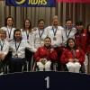 Három arany, három ezüst és két bronzérmet nyert a magyar kerekesszékes vívóválogatott