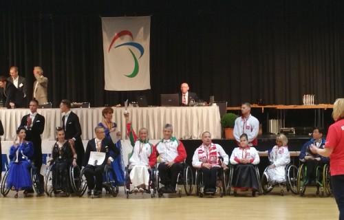 Bajnoki cím a magyar kerekesszékes táncosoknak a Para Dance Sport Mainhatten Cup versenyen, Németországban!