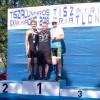 Boronkay Péter és Lévay Petra megvédte országos bajnoki címét, remek időeredmények az Országos Integrált Triatlon Bajnokságon.