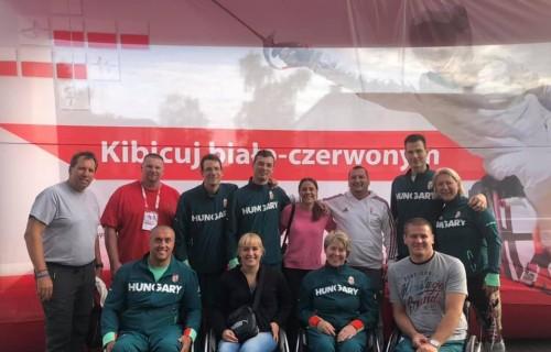 Két arany és két bronzérem a varsói kerekesszékes vívó világkupán a magyarok eredménye