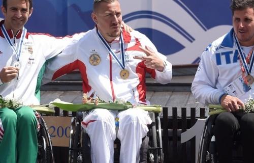Suba Róbert ezüstérmet nyert a szegedi kajak-kenu világkupán!
