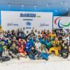 Dubaiban, a világ egyik legforróbb városában edzett a magyar parasnowboardos, téli sport a sivatagban!