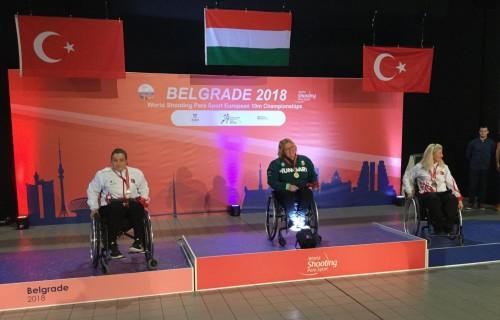 Dávid Krisztina Európa-bajnok lett a belgrádi légfegyveres 10 m- es Európa-bajnokságon