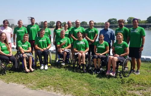 Rekord létszámban indulnak a paralimpiai kvótákért a szegedi kajak-kenu integrált világbajnokságon a sportolók