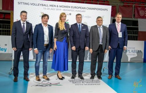 Új szintre emelte a parasport versenyrendezést a budapesti Ülőröplabda Férfi és Női Európa-bajnokság