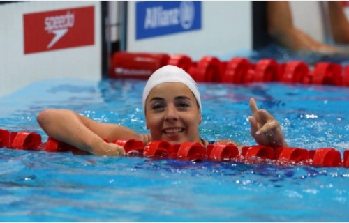 A londoni paraúszó világbajnokság első napján Illés Fanni világbajnok lett és ezzel az első női úszó kvótát is szerzett az országnak!