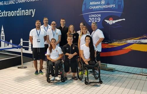 Négy érem és két biztos paralimpiai kvóta a magyar úszócsapat eredménye a londoni paraúszó világbajnokságon.