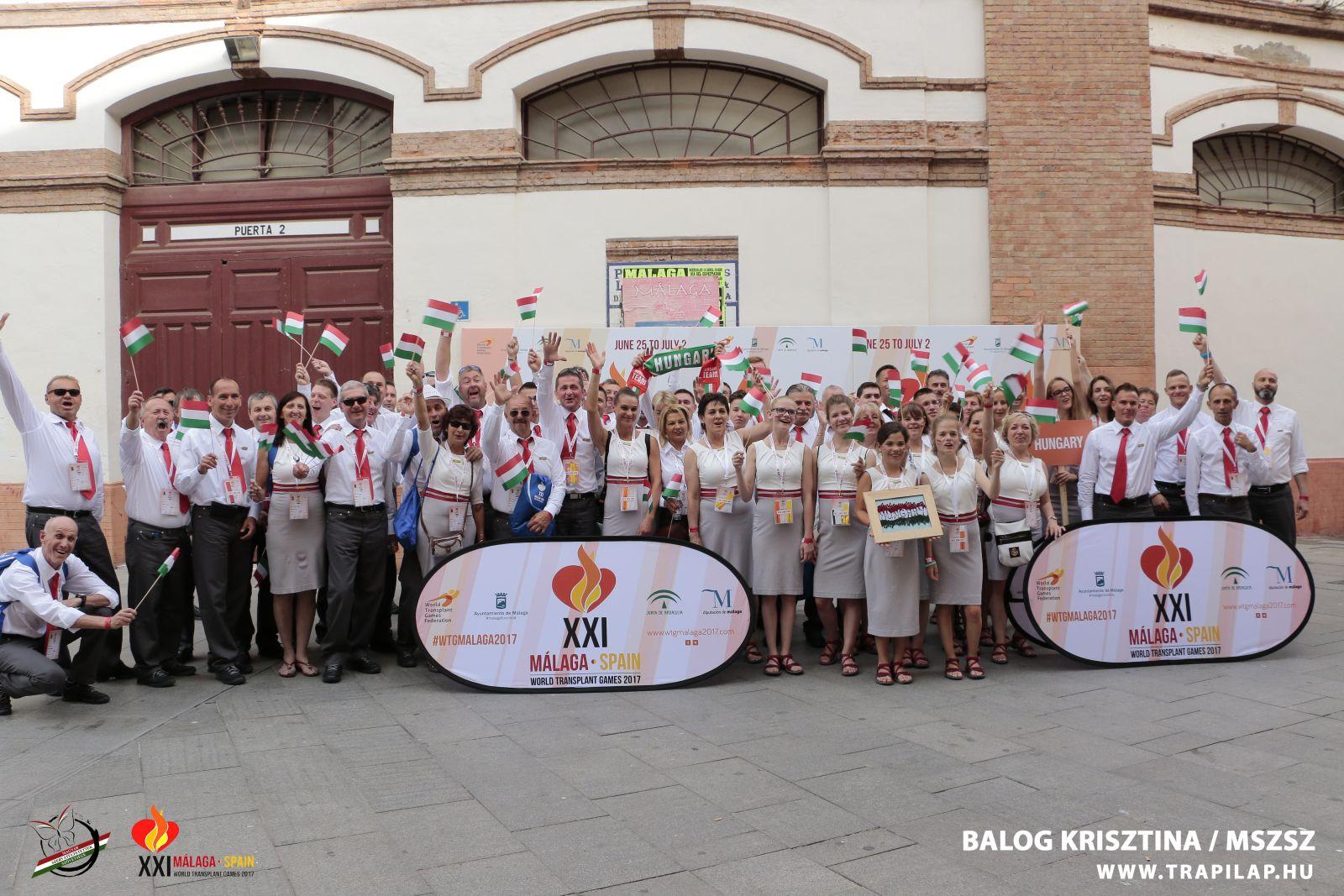 XXI. Szervátültetettek Világbajnoksága Malaga