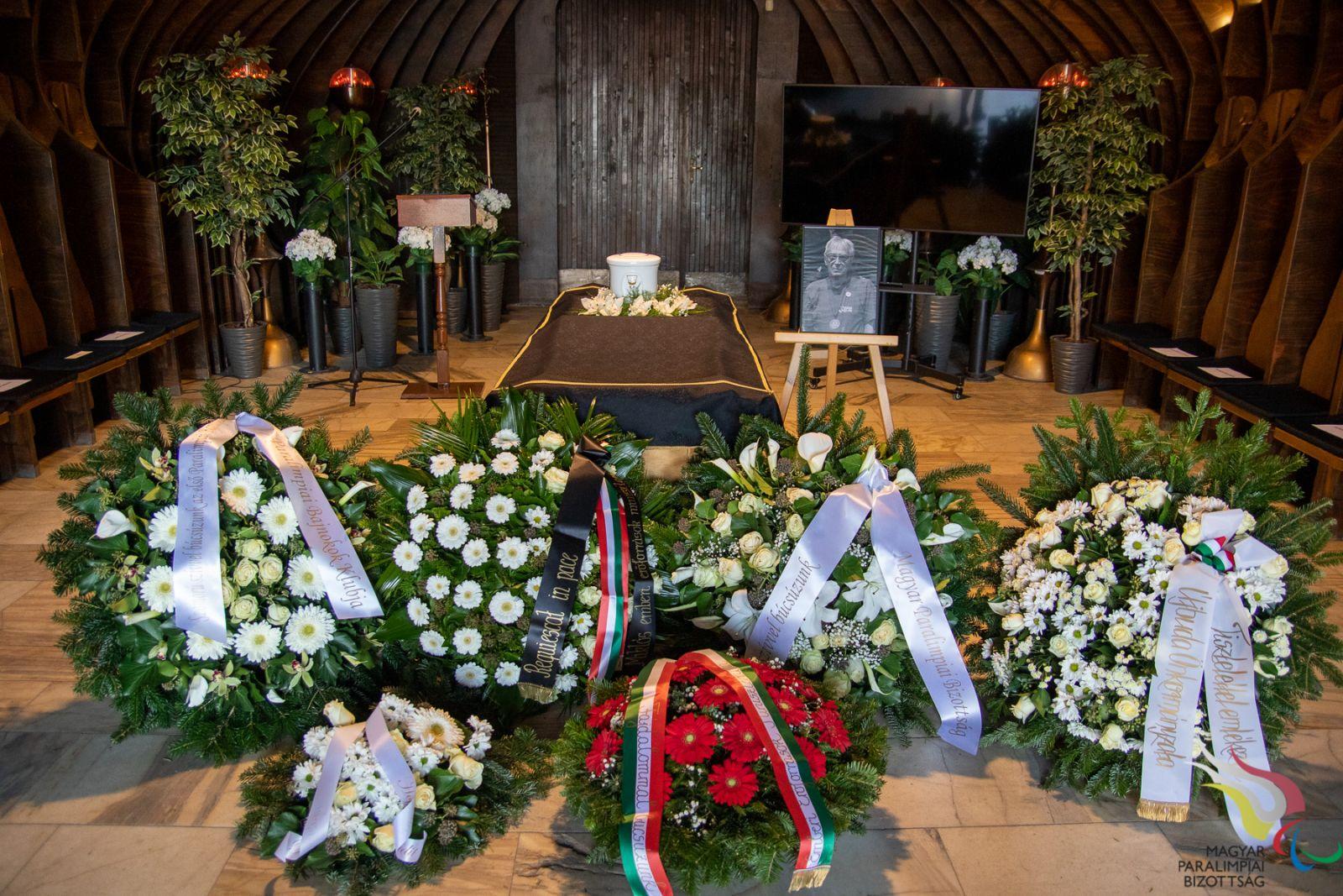 Tauber Zoltán temetése - 2020.10.20
